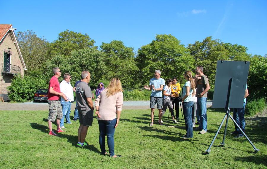 teamrollen in het zonnetje keeper Edwin van de Sar teamrollentest - blog - Schateiland
