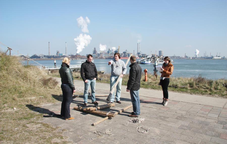 or-training Forteiland IJmuiden Teambuilding met de ondernemingsraad Schateiland