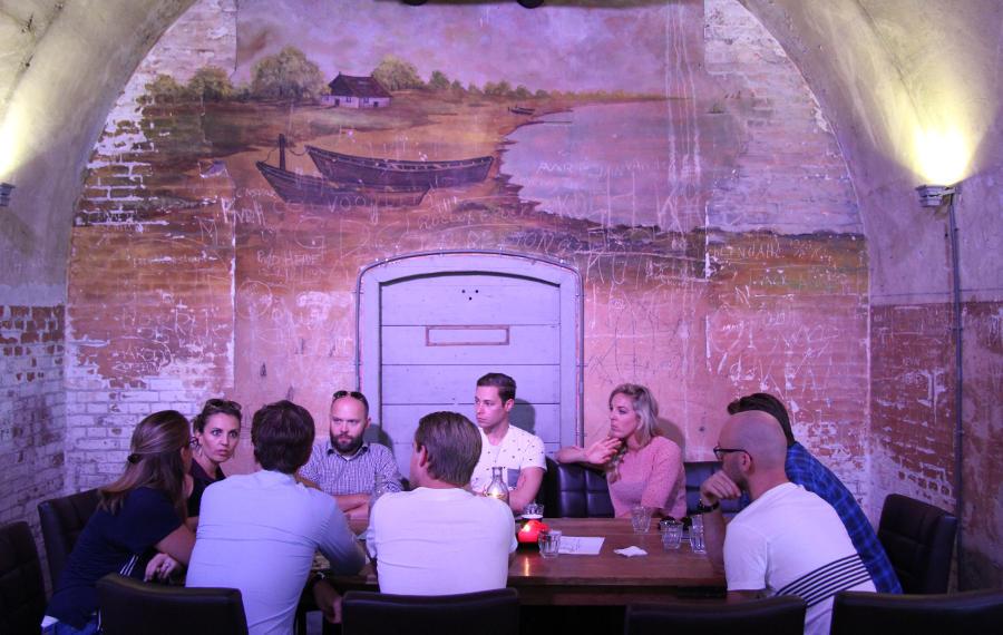 Teambuilding Amsterdam Teambuilding samenwerken met kleurentest Schateiland